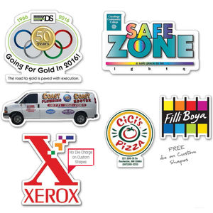 Stickers  Decals Visions Promotional Products - Promotional products stickers and decals